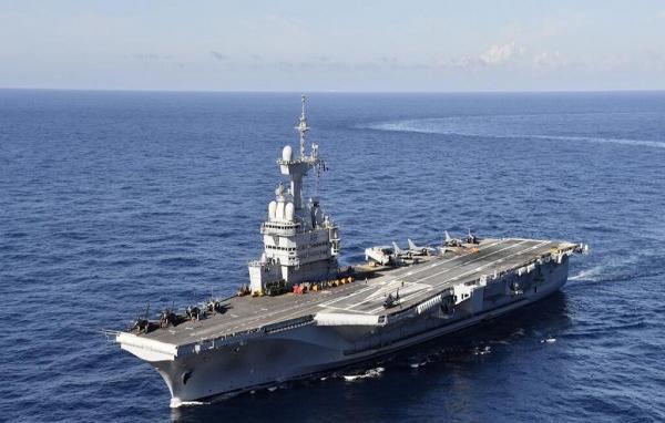 خبرنگاران فرانسه فرماندهی نیروی دریایی ائتلاف را برعهده گرفت