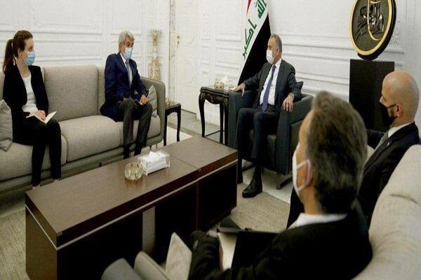 رایزنی سفیر فرانسه در بغداد با نخست وزیر عراق