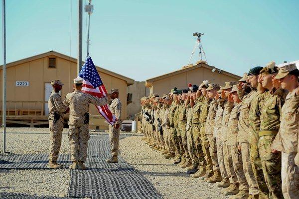 حمله راکتی به پایگاه نظامیان آمریکا در نزدیکی فرودگاه بغداد