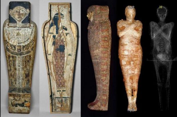 کشف مومیایی زن باردار مصری