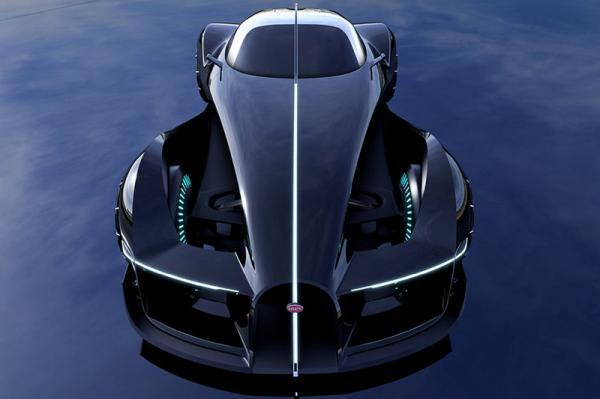 بوگاتی تایپ 57 با طراحی جدید اسپرت و موتور الکتریکی در سال 2036