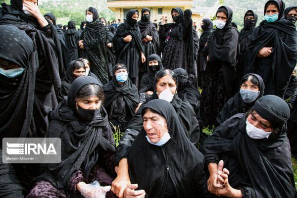 (تصاویر) مراسم عزاداری سنتی بختیاری