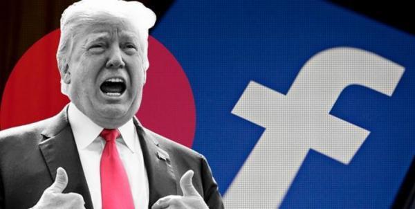 حساب ترامپ در اینستاگرام و فیس بوک مسدود باقی می ماند