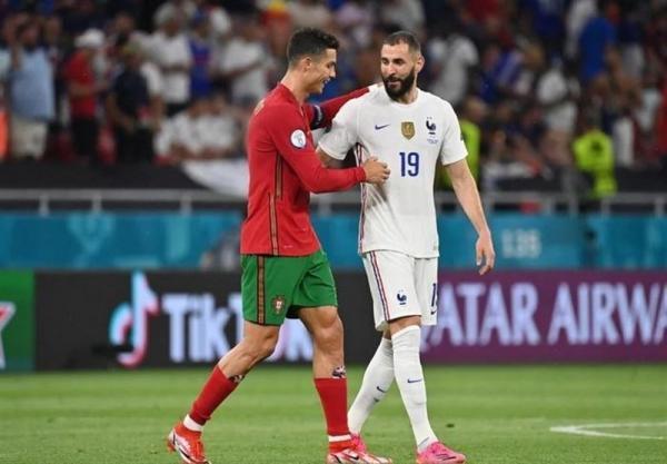 یورو 2020، جدال پرتغال و فرانسه در قاب تصاویر