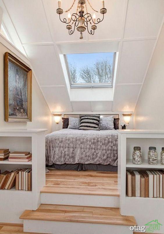 جدیدترین ایده های طراحی و تزیین اتاق زیر شیروانی در همه خانه ها