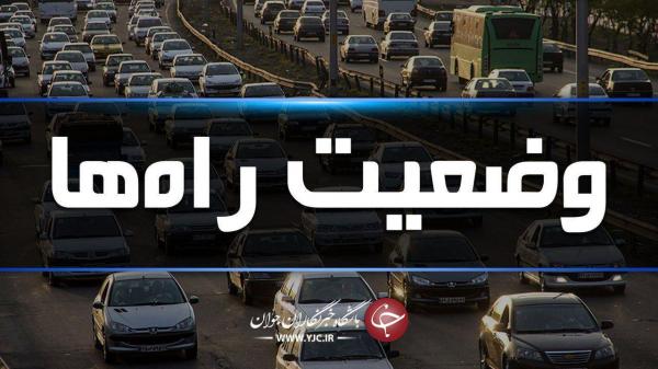 ترافیک سنگین در آزادراه کرج، قزوین